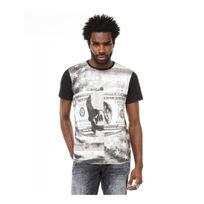 Redskins - Tee shirt Ranner shuman - Tee-shirt près du corps, col rond, manches courtes - Homme - 1503