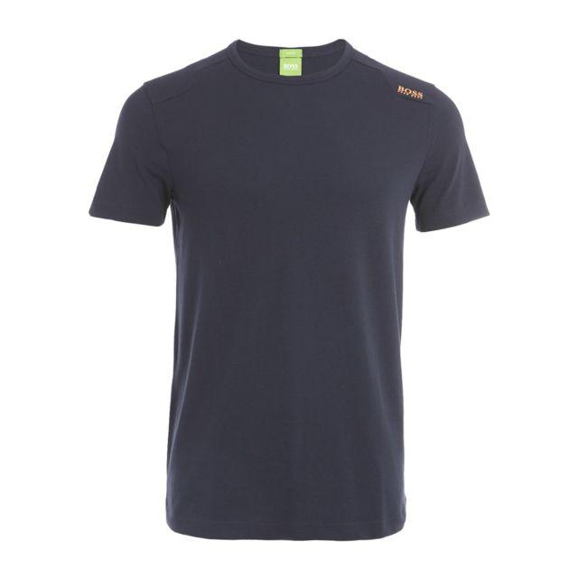 1d9e20e0521 Hugo Boss - T-shirt Boss Green Teenox - Sh50320620410 Bleu - L - pas ...
