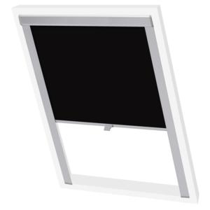 vidaxl store enrouleur occultant noir s06 606 sk06 10cm x 10cm pas cher achat vente store. Black Bedroom Furniture Sets. Home Design Ideas