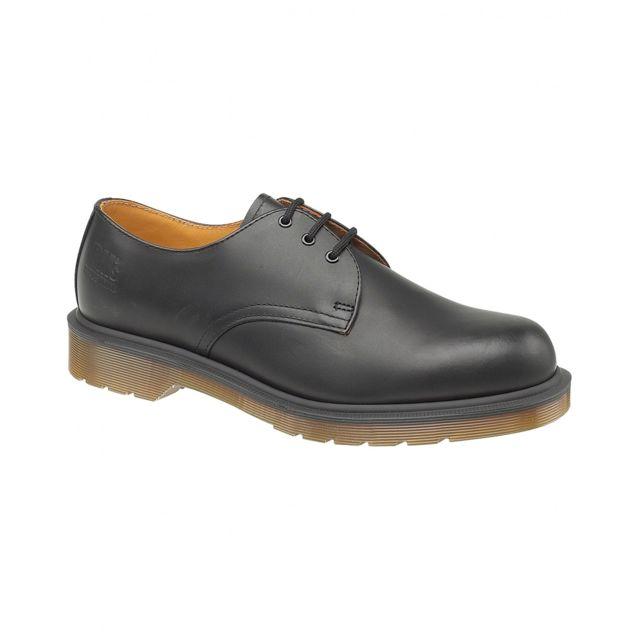 Dr. Martens Dr Martens B8249 - Chaussures en cuir - Homme 51 Eur, Noir Utfs892
