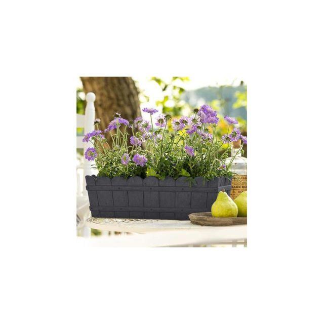 Emsa Jardiniere Country 50 x 17 x 15 cm - Anthracite