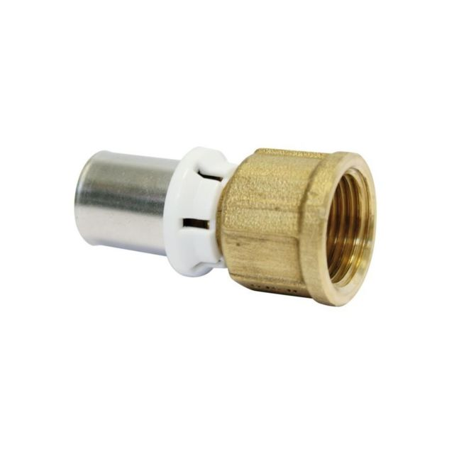 raccord /à sertir oventrop 1512048 26 mm filetage male tube multicouche