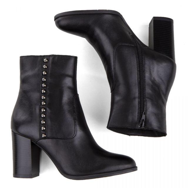 réduction jusqu'à 60% magasin en ligne qualité Bottines cuir Femme