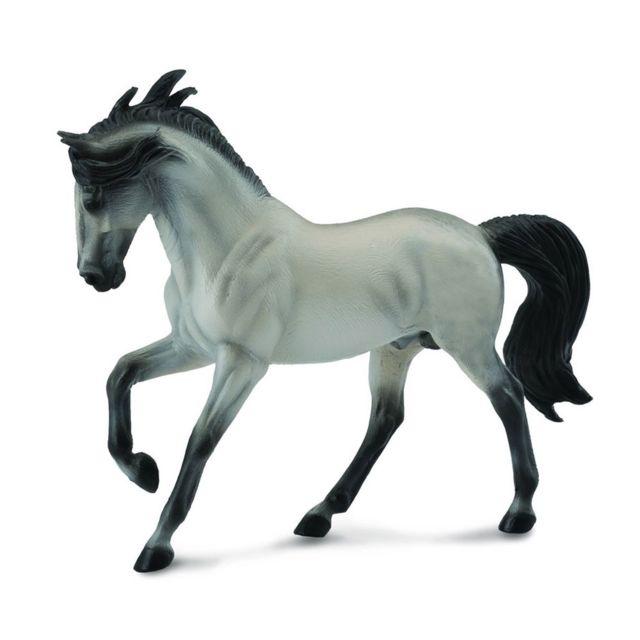 Figurines Collecta Figurine Cheval : Etalon Andalou Gris