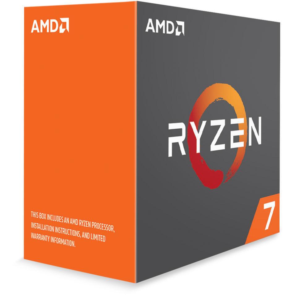 Processeur Ryzen 7 1700 95W AM4 8/16 Core/Tread 3.8 Ghz
