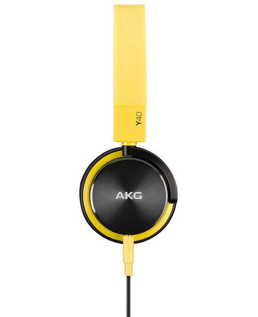 AKG - Casque supra auriculaire Y40 - Jaune