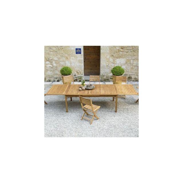 Océo - Table rectangulaire Mauthen - 193/326x110 - en ...