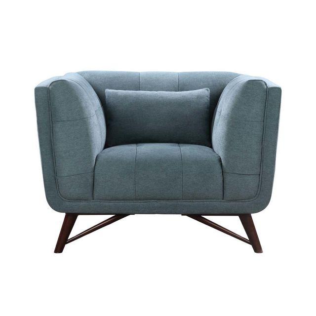 habitat et jardin fauteuil tissu brio vert pas cher achat vente fauteuils rueducommerce. Black Bedroom Furniture Sets. Home Design Ideas