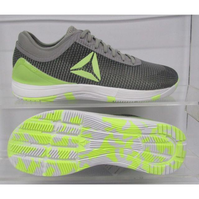 Reebok Chaussures Crossfit Nano 8.0 gris foncéjaune fluo