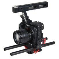 Wewoo - Pour Sony A7 & A7S rouge & A7R et A7R Ii A7S Ii, Panasonic Lumix Dmc-gh4 caméra Cage Stabilisateur