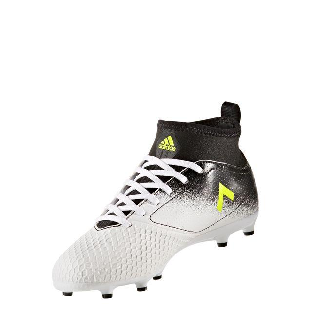Fg 17 Ace Adidas Chaussures Junior Pas Fluonoir Blancjaune 3 pwqHC