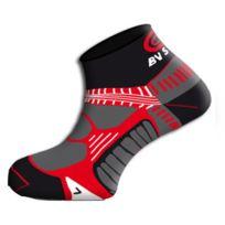 Bv Sport - Socquettes Running Rsx Noires Chaussettes running
