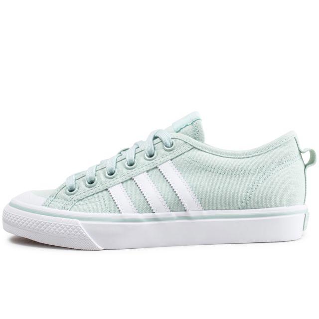 Adidas - Nizza Vert D'eau - pas cher Achat / Vente Baskets ...