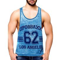 Cipobaxx - Débardeur fashion homme Débardeur 140 bleu turquoise