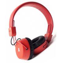 WeSC - Casque Audio Piston Bluetooth Bright Red - En Soldes