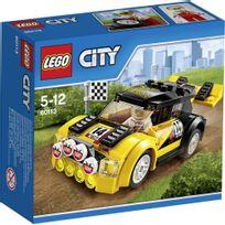 Lego - City - La voiture de rallye - 60113