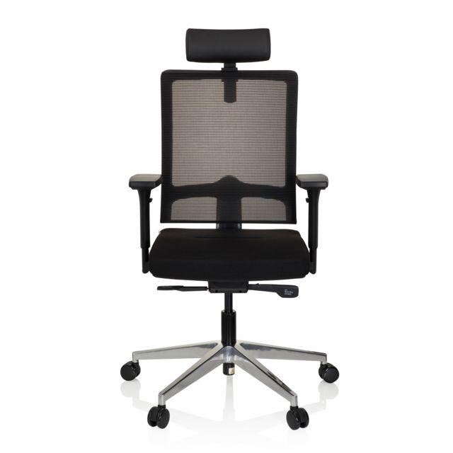 Hjh Office Chaise de bureau chaise pivotante Varo maille