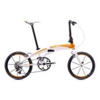 Tern - Vélo Verge X10 blanc orange 10v