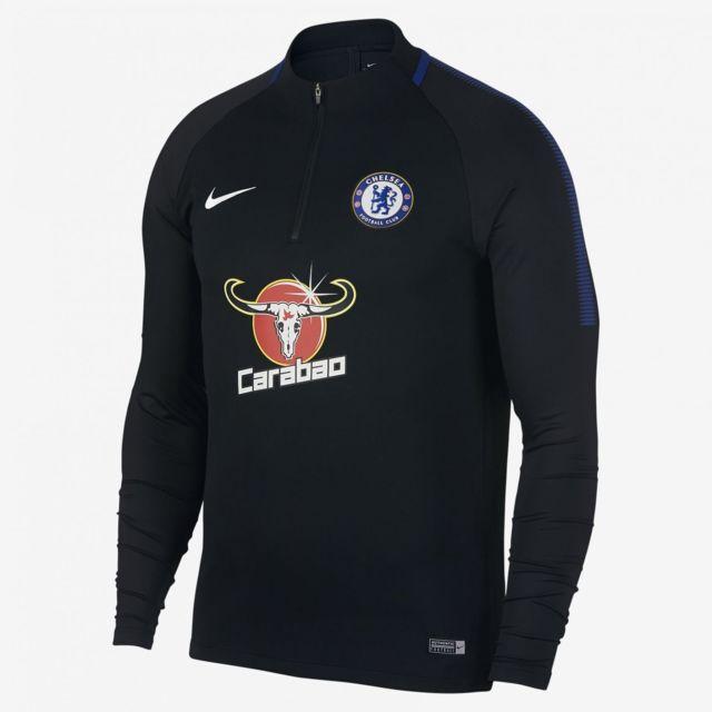 Nike Chelsea Fc Dri FIT Squad Drill Noir pas Vente cher Achat / Vente pas 6e84a1