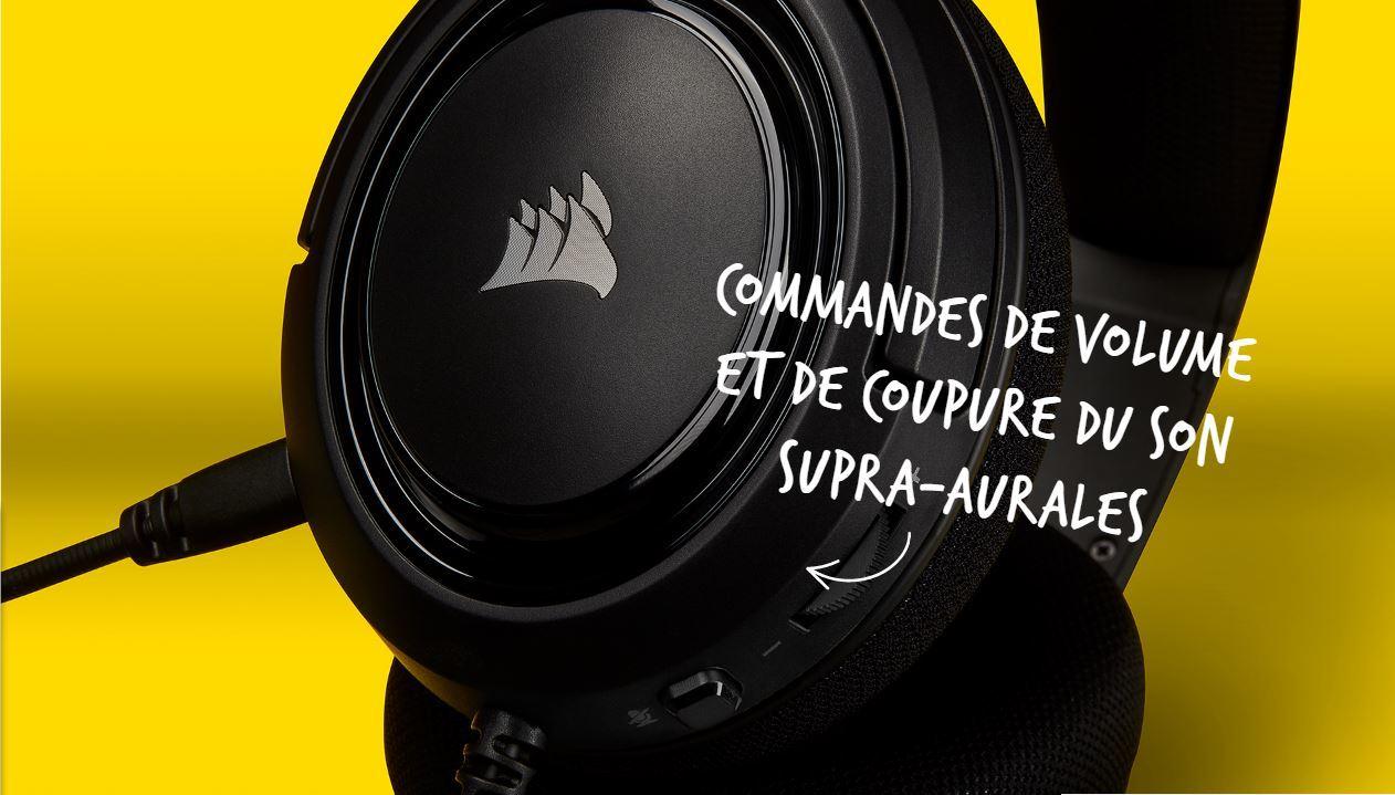 CORSAIR HS35 (Noir)