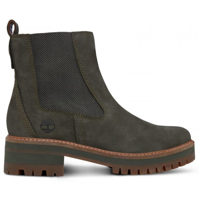 timberland courmayeur valley olive chelsea bottes