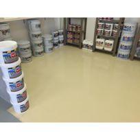 Arcane Industries - Peinture epoxy garage sol atelier local commercial magasin Revepoxy Garage - Couleur : blanc - Contenance : kit 25kg couvre jusqu'à 80m² pour 2 couches