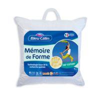 Bleu Calin - Oreiller memoire de forme Memofill 60x60