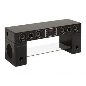 Vente unique meuble tv home cin ma int gr watts ii - Meuble tv home cinema integre pas cher ...