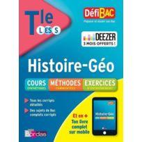 Bordas - Defibac ; histoire ; géographie ; terminale ; L ; Es ; S édition 2018