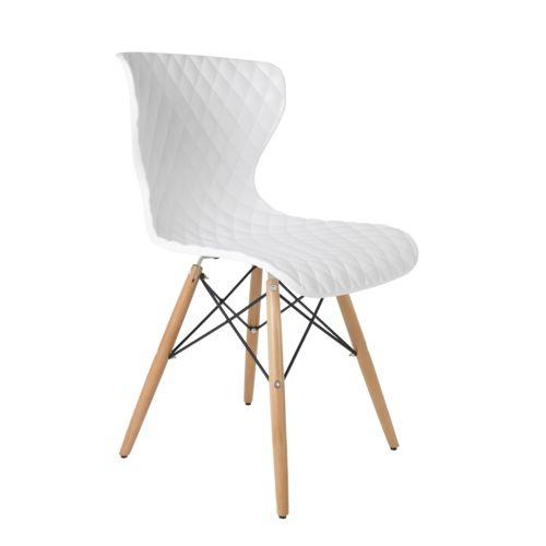 Boite a design chaises scandinave crow beech lot de 2 for Stuhl design analyse