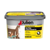 Julien - Peinture sous couche ultra couvrante 2.5 L