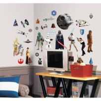 Room Mates - Star Wars Stickers Muraux Enfant -4 Planches Repositionnables