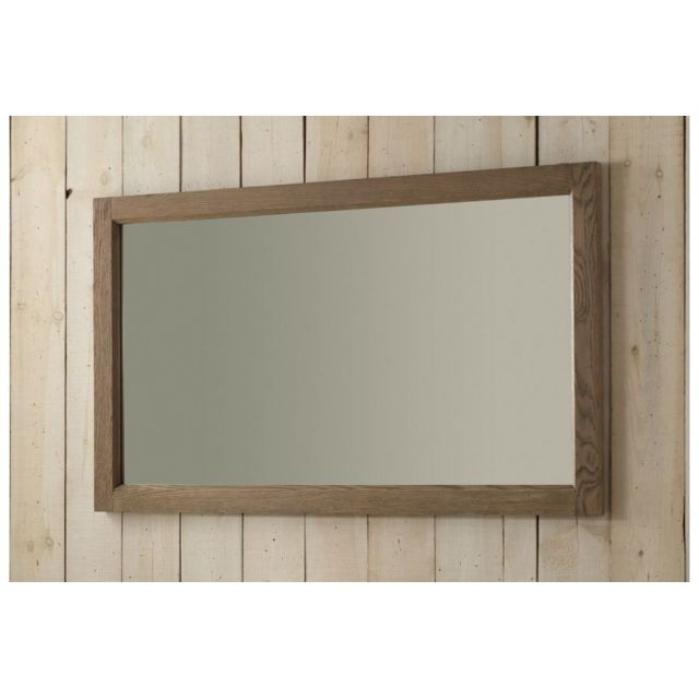 HELLIN Miroir avec cadre en chêne Achille