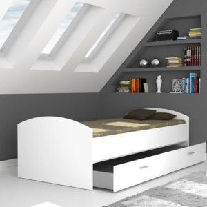 finlandek chambre finlandek lit gigogne enfant lupo 90x200 cm blanc pas cher achat. Black Bedroom Furniture Sets. Home Design Ideas