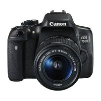 Canon - Eos 750D + Ef-s 18-55 mm f/3.5-5.6 Is Stm Garanti 3 ans