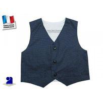 Poussin Bleu - Gilet sans manche garçon, marine 3 mois au 10 ans Couleur - Bleu, Taille - 60 cm 3 mois