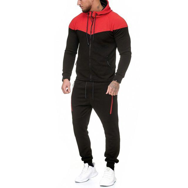 f6dab47f19b6d Violento - Ensemble jogging fashion Survêtement 984 noir - pas cher ...