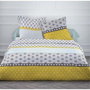 finlandek chambre finlandek parure de couette kaisu 100 coton 1 housse de couette 200x200. Black Bedroom Furniture Sets. Home Design Ideas