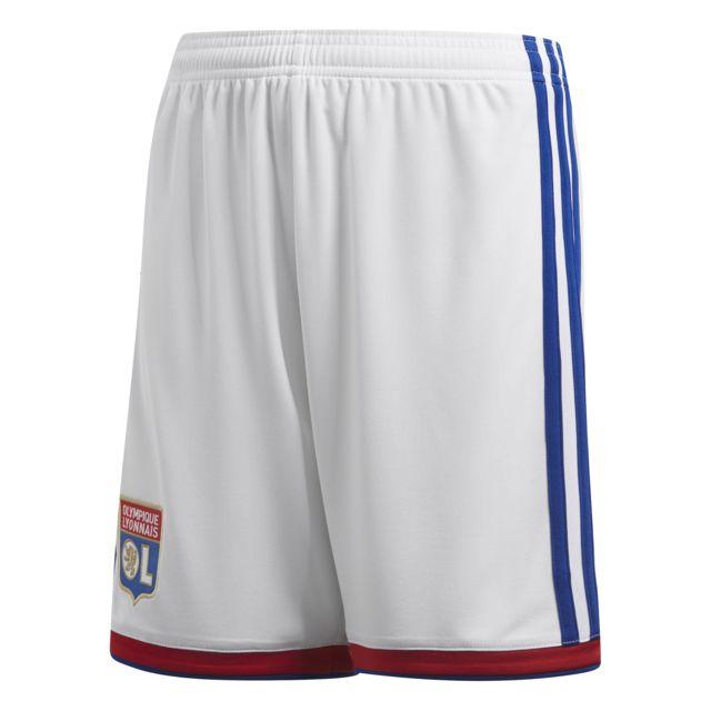 94184b37474e0 Adidas - Short domicile junior Olympique Lyonnais 2018 19 - pas cher ...