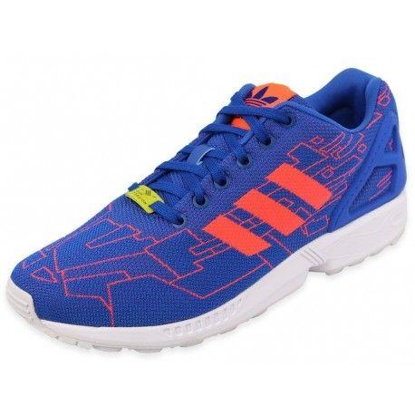 Pas Blu Adidas Zx Chaussures Originals Weave Flux Homme UVSMzp