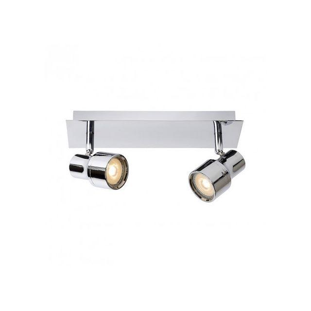 lucide spot encastrable salle de bain sirene led ip44 l28 cm chrome gris pas cher achat. Black Bedroom Furniture Sets. Home Design Ideas