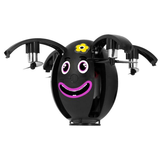 Bigben Mini Drone Enfant Smartphone Bluetooth 40 Stickers - Egg One Noir
