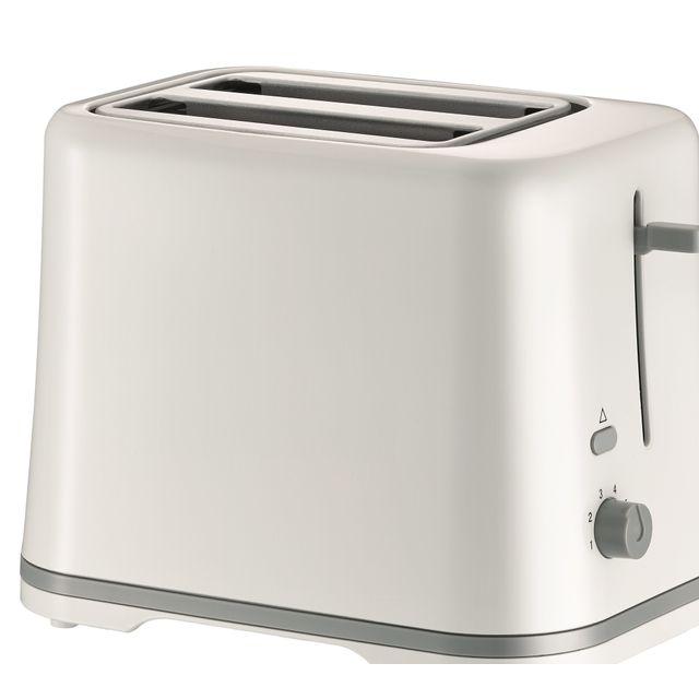 BLUESKY Grille-pain BT870S-15 2 Fentes - Thermostat 6 positions - Touche annulation - Tiroir ramasse-miettes - Puissance : 870 W.