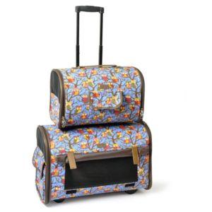 bonareva sac de transport double sur roulettes gufi pour chien et chat pas cher achat. Black Bedroom Furniture Sets. Home Design Ideas