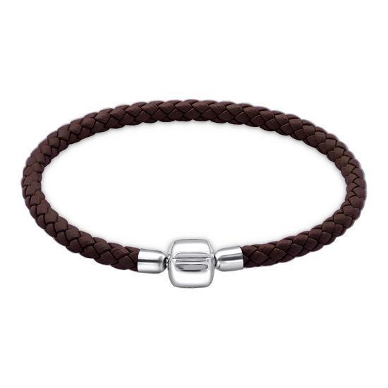 bracelet pandora cuir noir