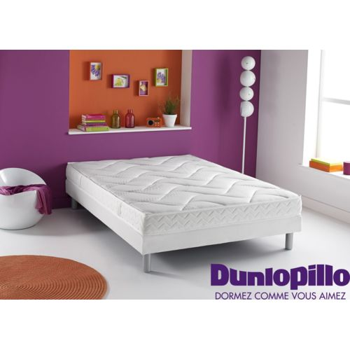 dunlopillo matelas en mousse et en latex reve 90x190 achat vente matelas latex pas chers. Black Bedroom Furniture Sets. Home Design Ideas