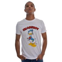 Otaku - Tee shirt headshot duck blanc