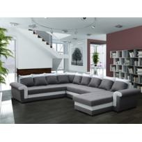 Modern sofa - Canapé d'angle reversible Milano gris sofa divan