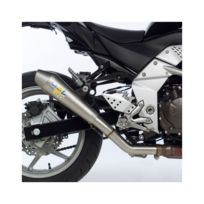 Leovince - Kawasaki Z750 07/12 + Z750 R 11/12 Sbk Gp Style EvoII pot d'échappement 7917