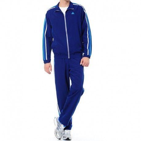 online retailer 0cc58 89ef6 Adidas originals - Survêtement Ess 3S Woven Marine Entrainement Homme Adidas